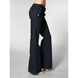 7FAM - Harness Trouser Jeans - Denmark Dark Wash